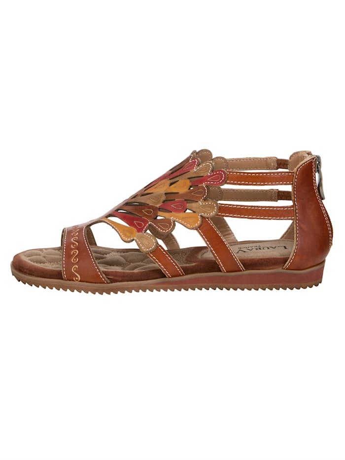 Sandály v letní barevnosti