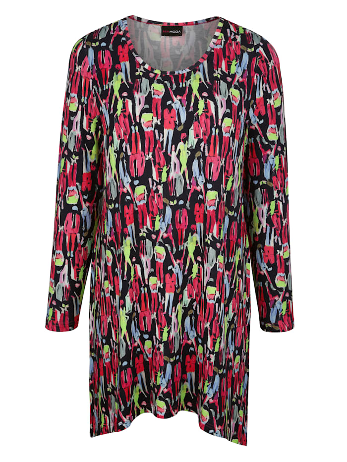 MIAMODA Tričko ve skvělé barevné kombinaci, Multicolor