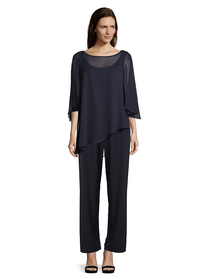 Vera Mont Jumpsuit mit Strass, Night Sky