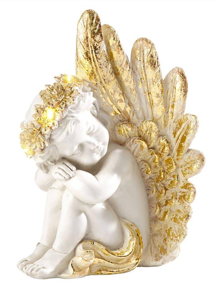 Schwartinsky Dekofigur Engel, Weiß
