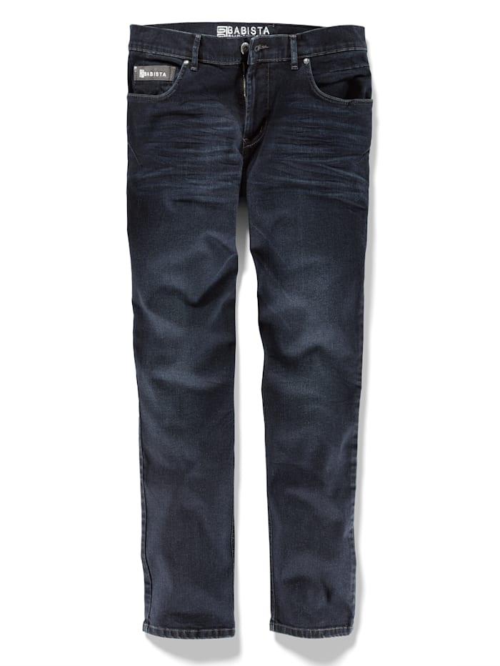 BABISTA Jeans met modieuze accenten, Blauw