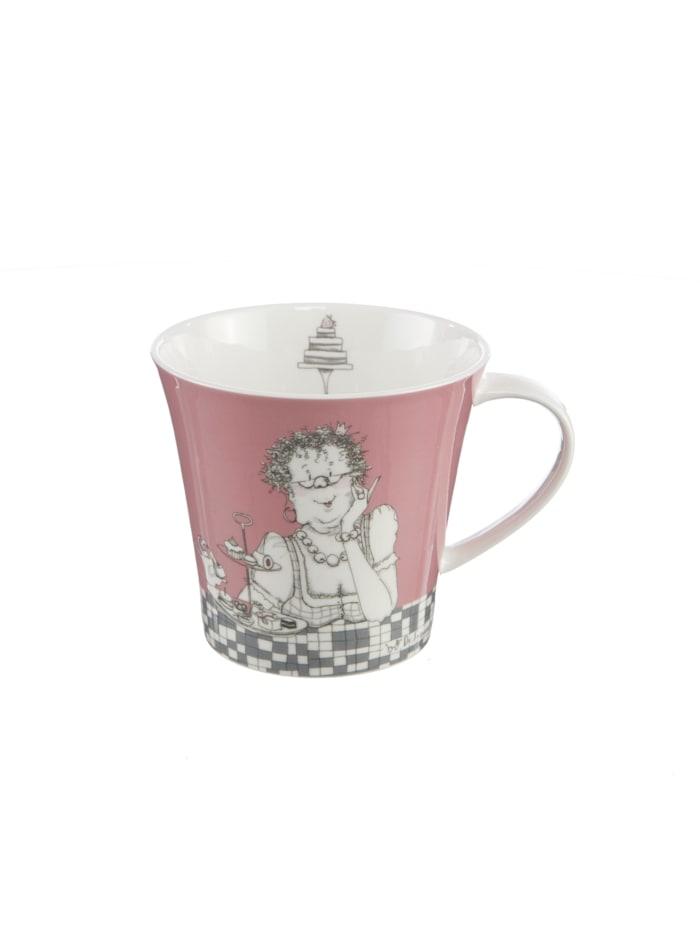 Goebel Coffee-/Tea Mug Barbara Freundlieb - Zwei Diäten
