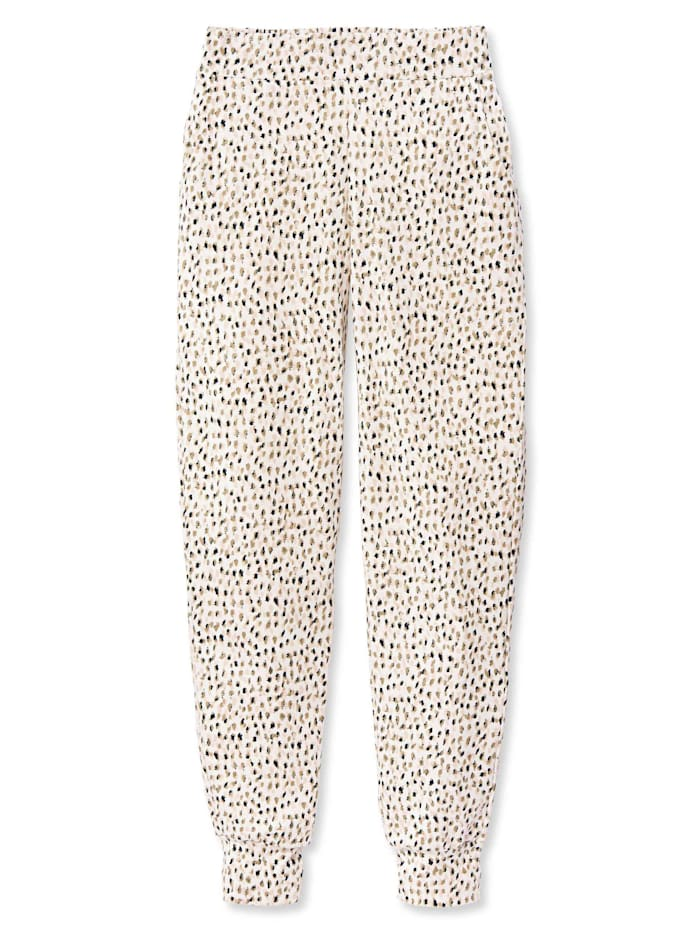 Calida Pants mit Bündchen STANDARD 100 by OEKO-TEX zertifiziert, star white