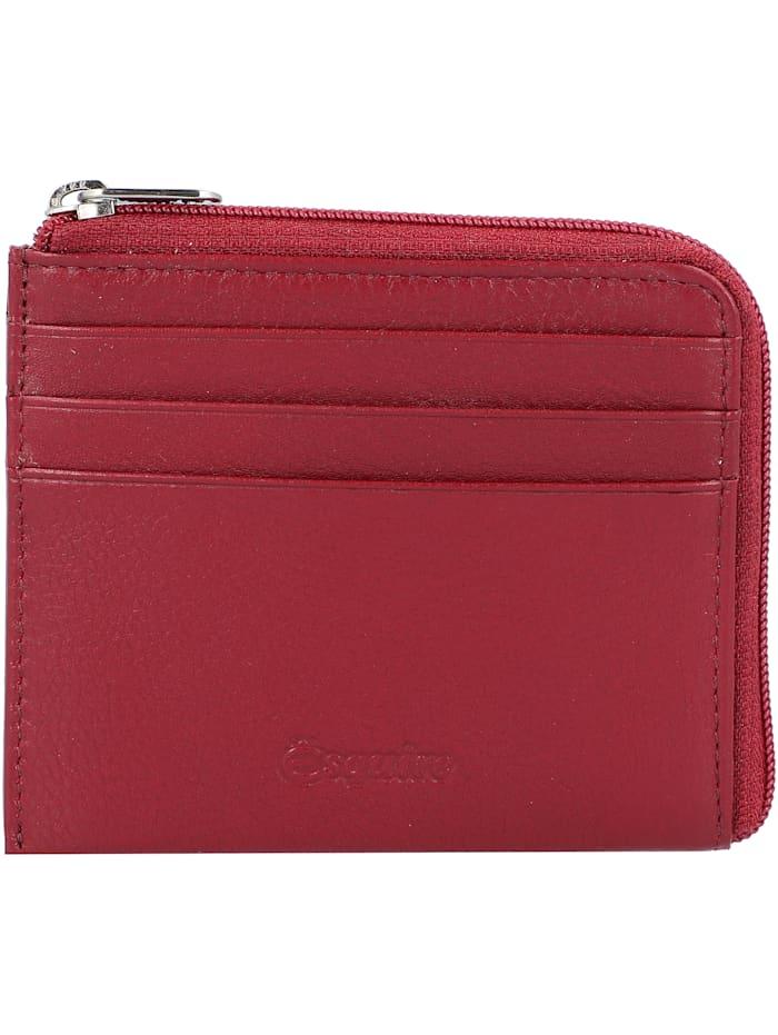 Esquire Oslo Kreditkartenetui RFID Leder 10,5 cm, rot