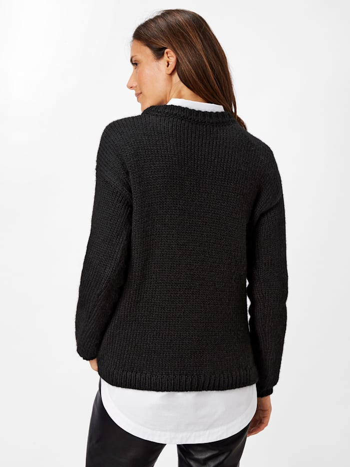 Strick Pullover im skandinavischen Look