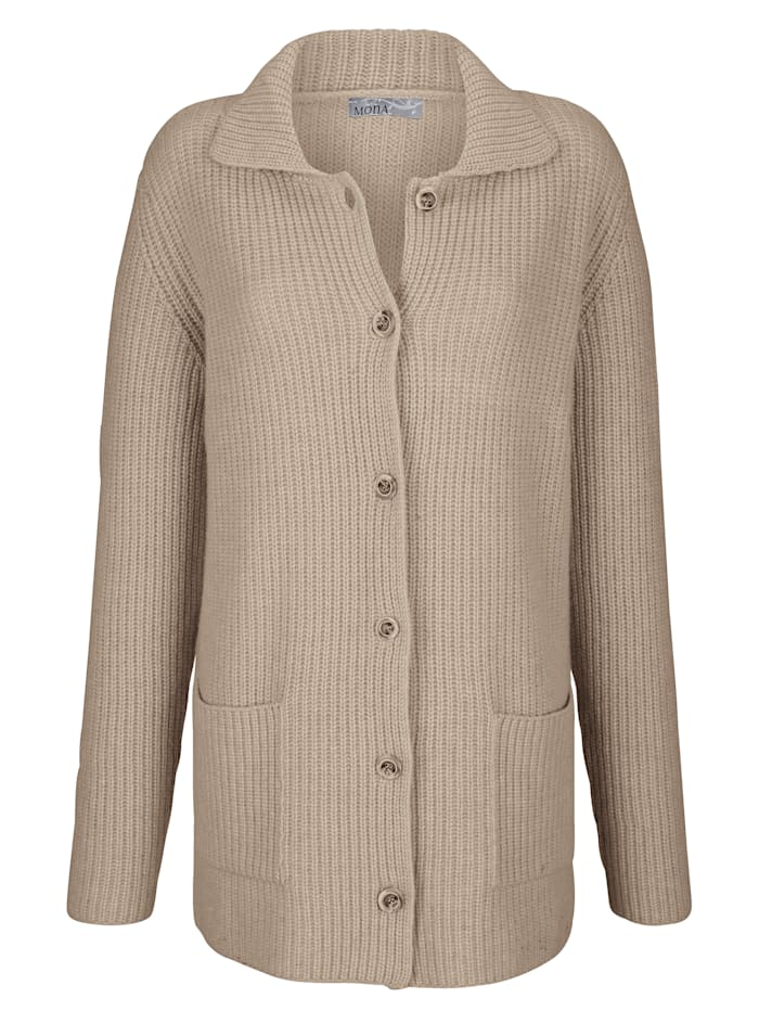 Cashmere cardigan made from premium cashmere