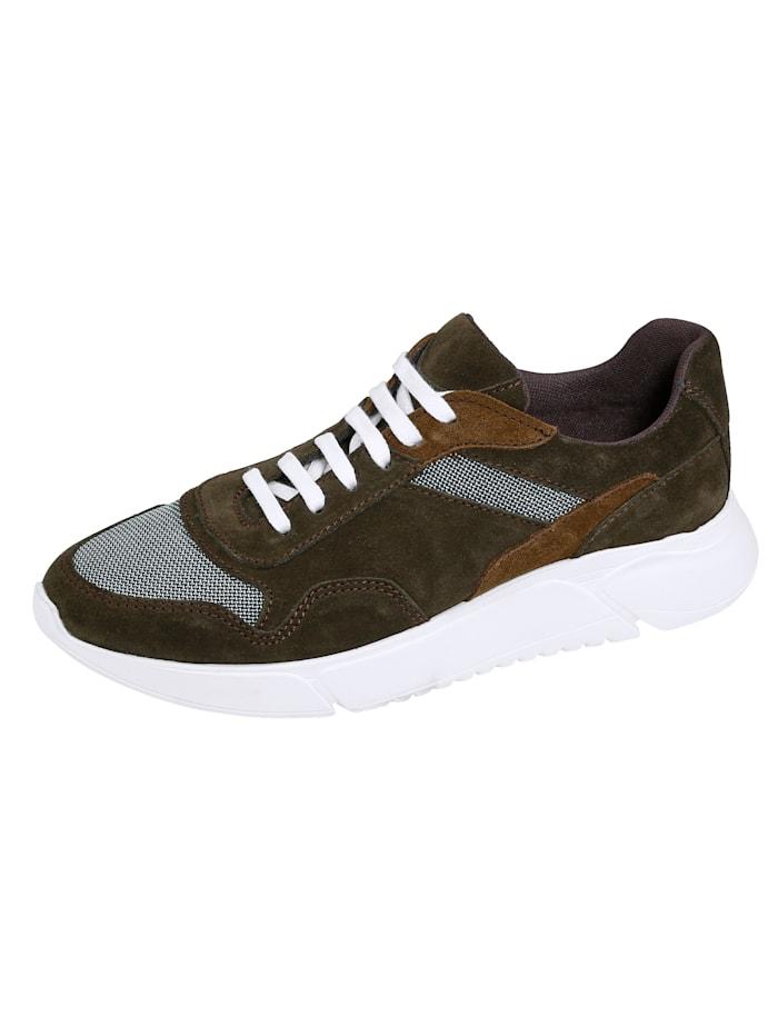 BABISTA Sneaker met meshinzetten, Bruin