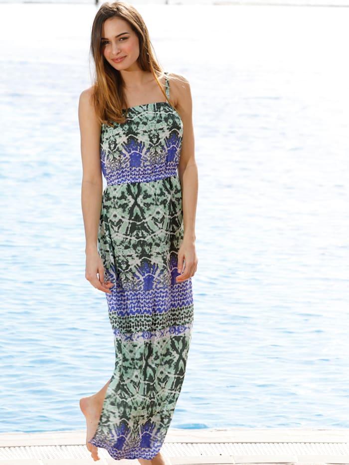 Sunflair Strandkleid mit verstellbaren Trägern, Grün/Türkis