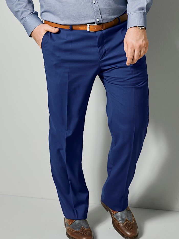 Men Plus Hose mit Comfort Stretchbund, Royalblau