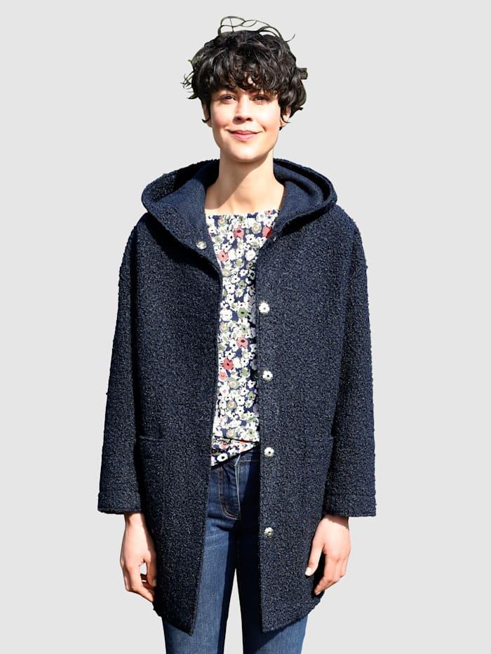 Dress In Jacke mit Kapuze, Marineblau