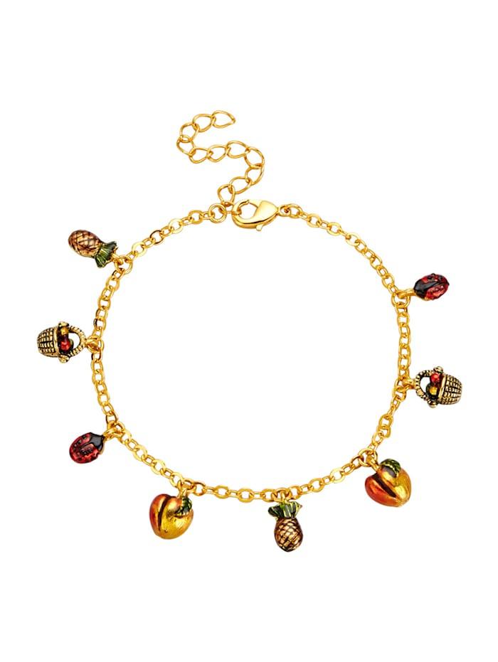 Golden Style Armband vergoldet, Gelbgoldfarben