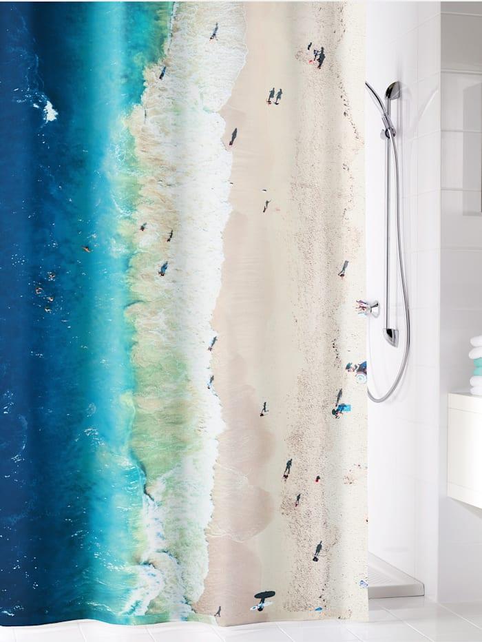 Kleine Wolke Rideau de douche 'Waikiki', Multicolore