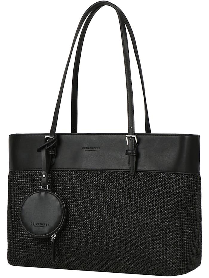 Seidenfelt Lysekil Shopper Tasche 41 cm, black
