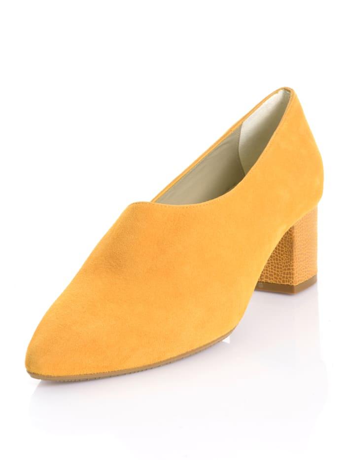 Alba Moda Pumps in trendaktueller Farbe, Gelb