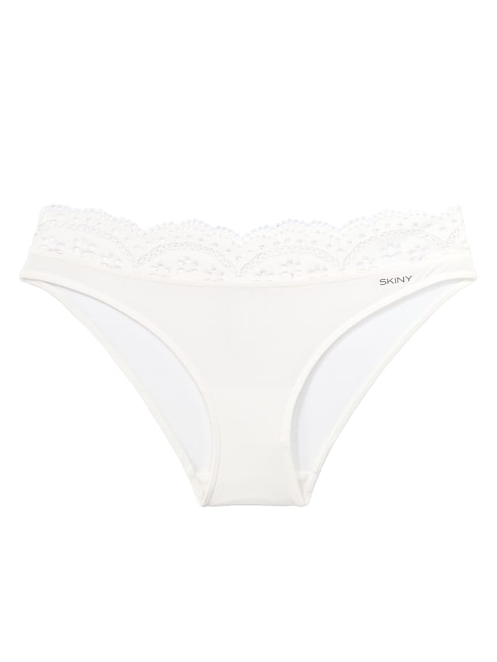 Skiny Slip, Creme-Weiß