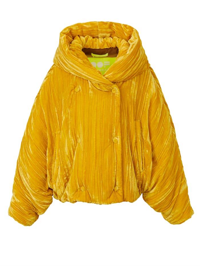 OOF Wear Samtjacke, Gelb