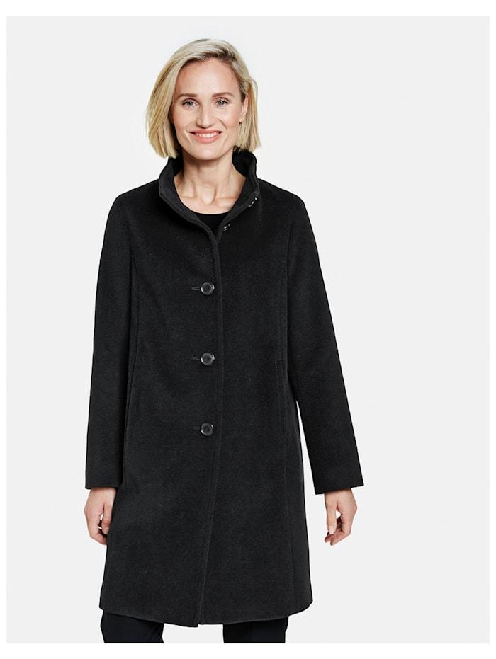 Mantel mit Wolle und Kaschmir