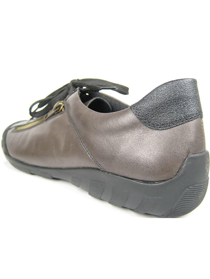 Remonte Schnürschuhe, grau