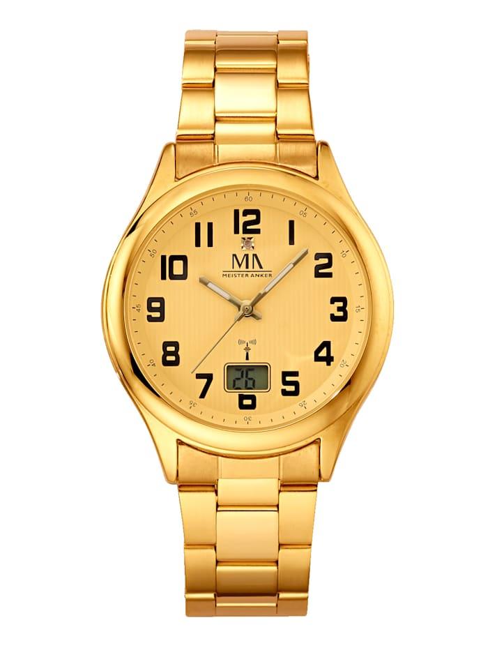 Meister Anker Pánské hodinky, Barva žlutého zlata