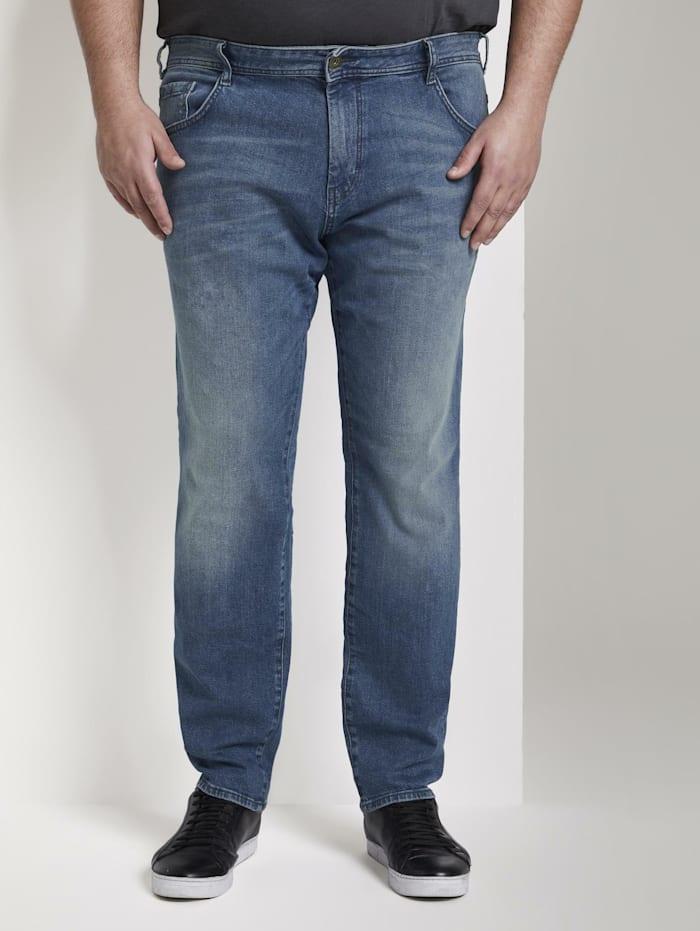 Tom Tailor Men Plus Slim Jeans, light stone wash denim