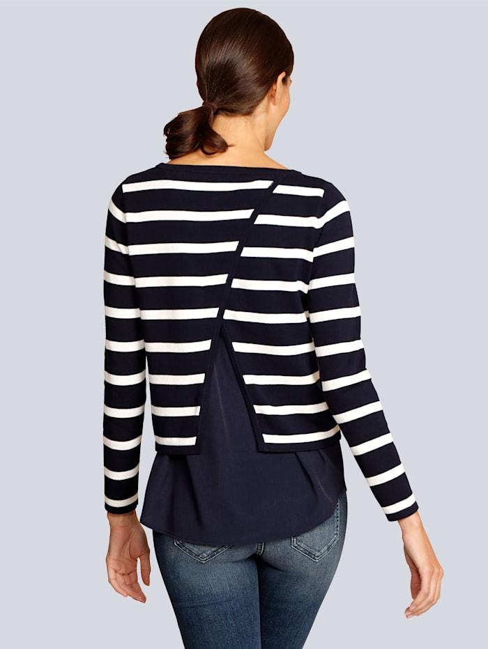 Pullover in modischer 2-in-1-Optik