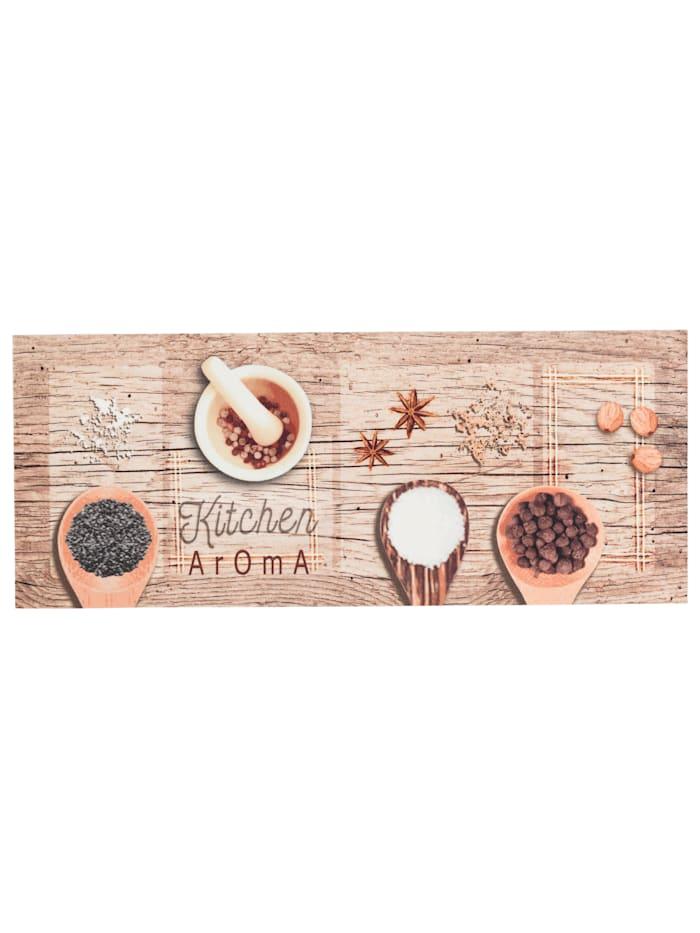 Pergamon Küchenläufer Teppich Trendy Kitchen Aroma, Beige