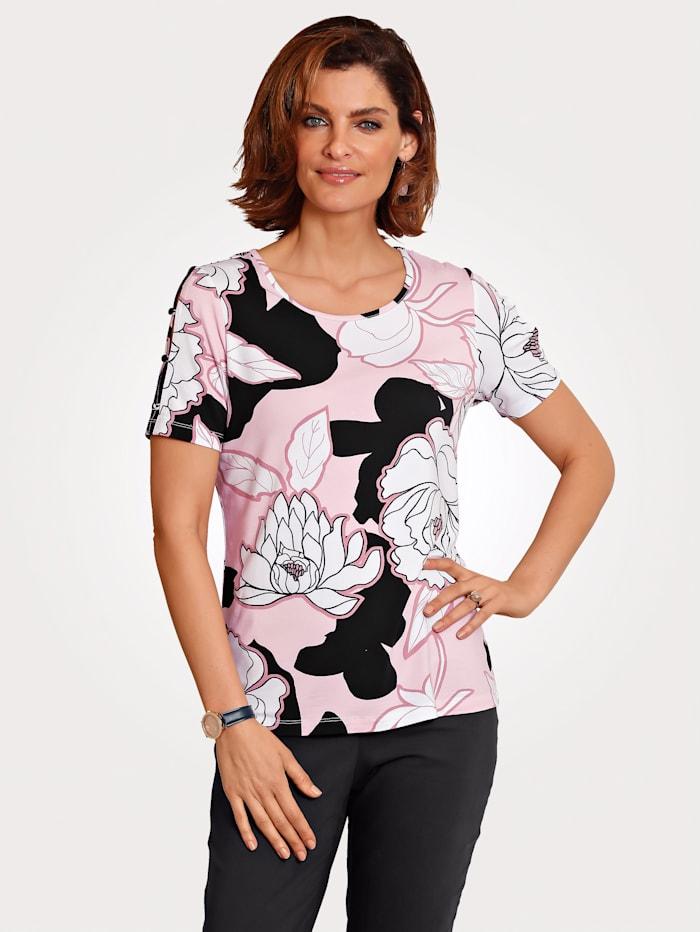 Shirt mit Blumendessin