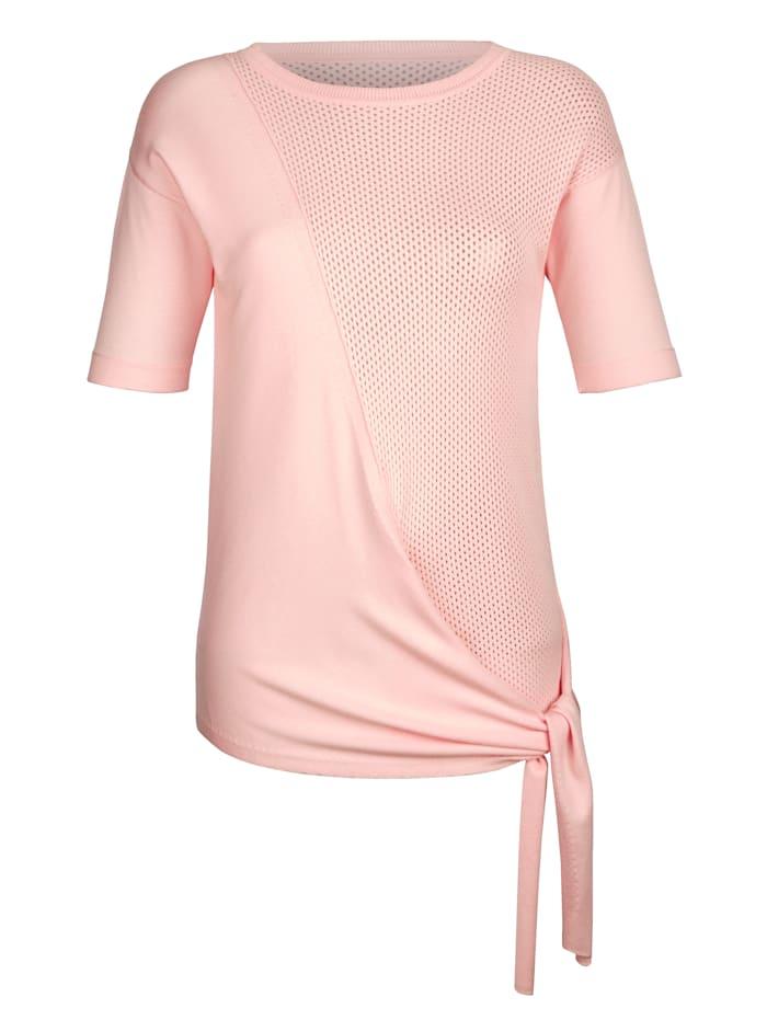 Pullover mit dekorativem Bindeband