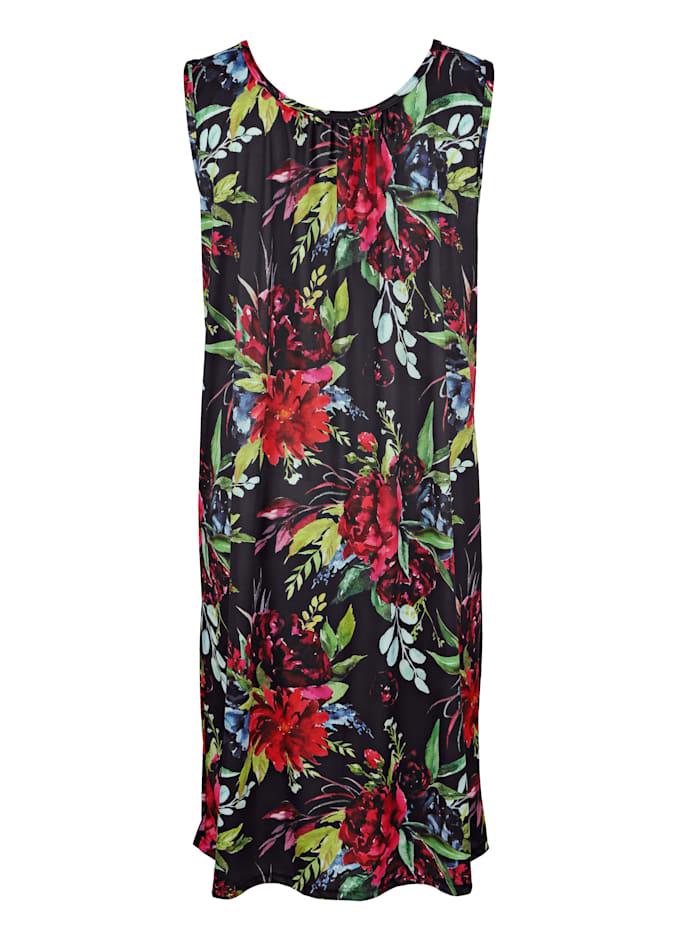 Strandkleid im klassischen Floraldruck