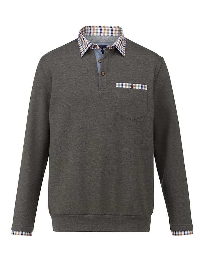 BABISTA Sweatshirt met zacht geruwde binnenkant, Olijf