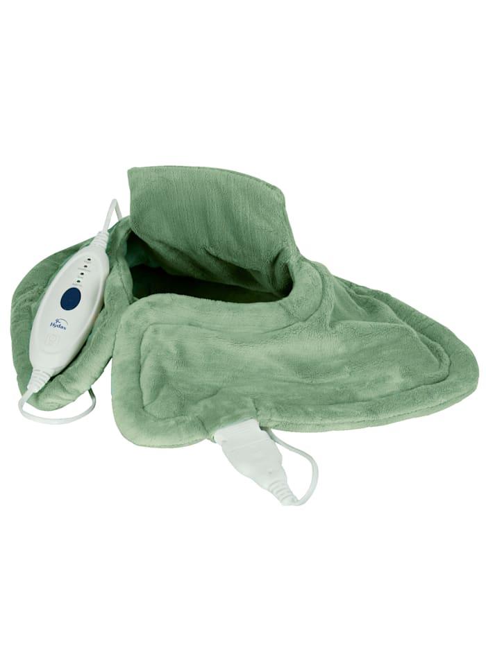 Hydas Nek- en schouderwarmtekussen, groen