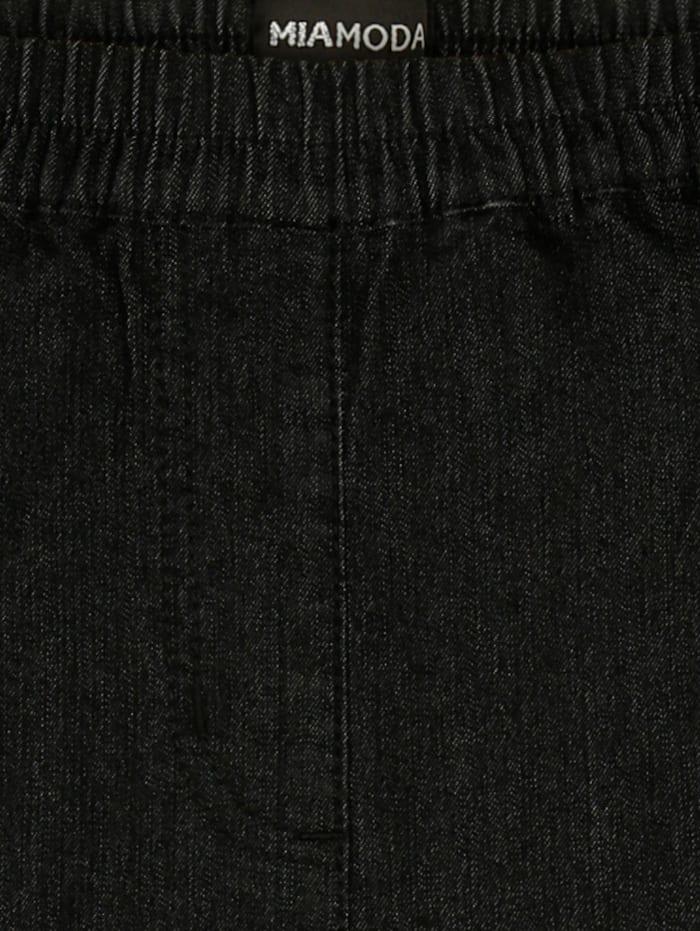 Jeans mit bequemem Dehnbund