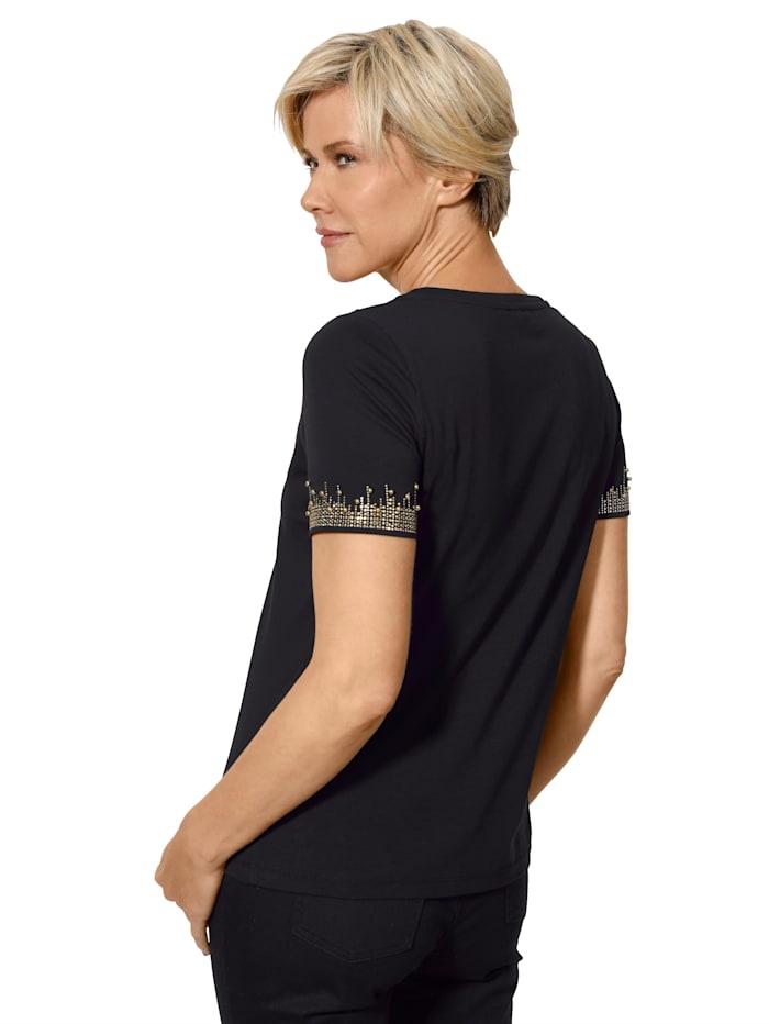 Shirt mit effektvoller Zierdekoration