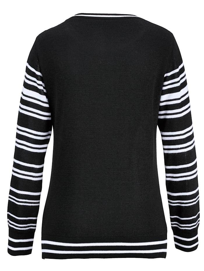 Pullover mit Zickzack Muster