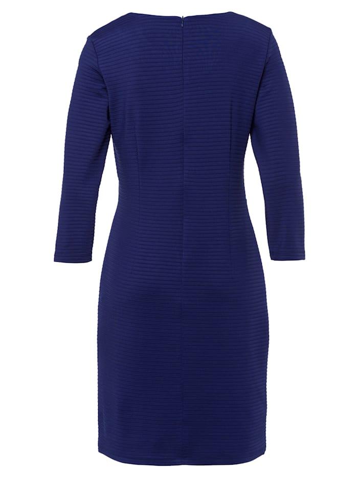 Jerseykleid, warm blue