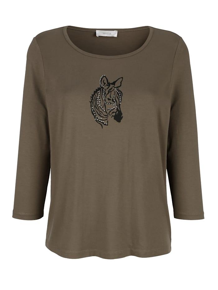 T-shirt à motif animalier