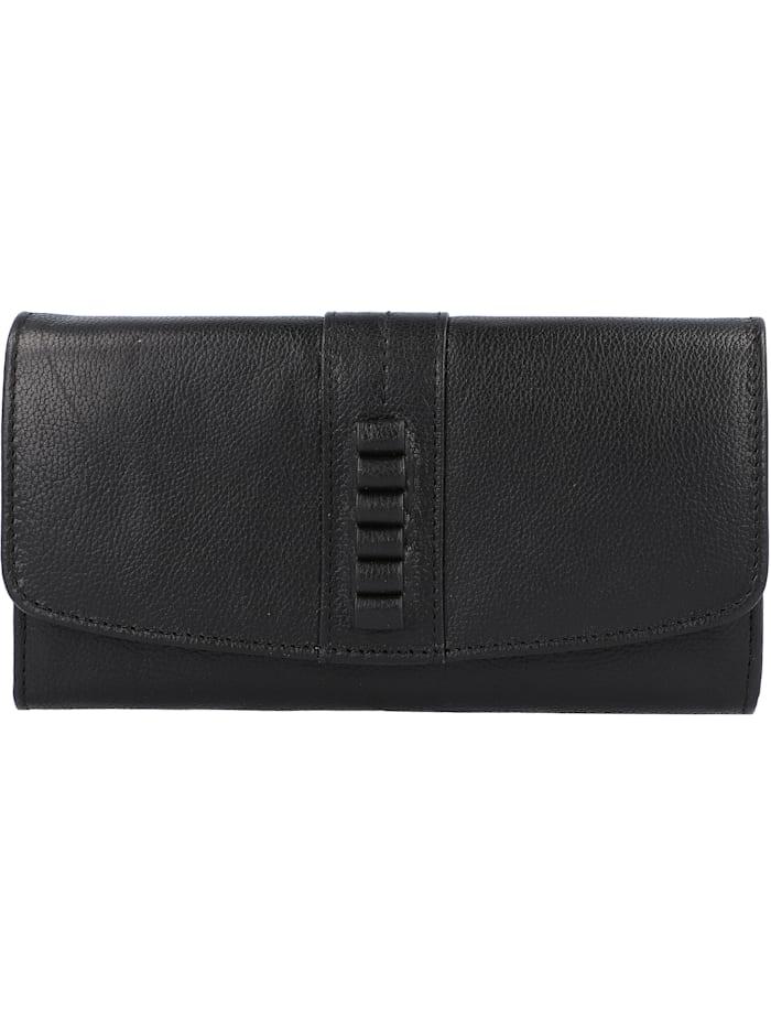 Esprit Sadie Geldbörse Leder 18,5 cm, black