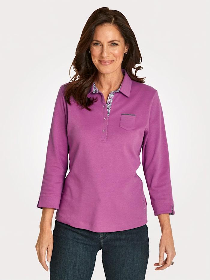 Rabe Poloshirt aus reiner Baumwolle, Pink