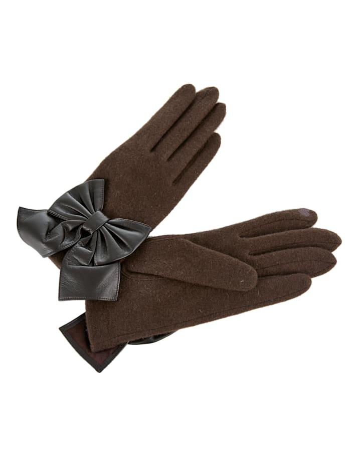 Vincent Pradier Handschuhe, braun