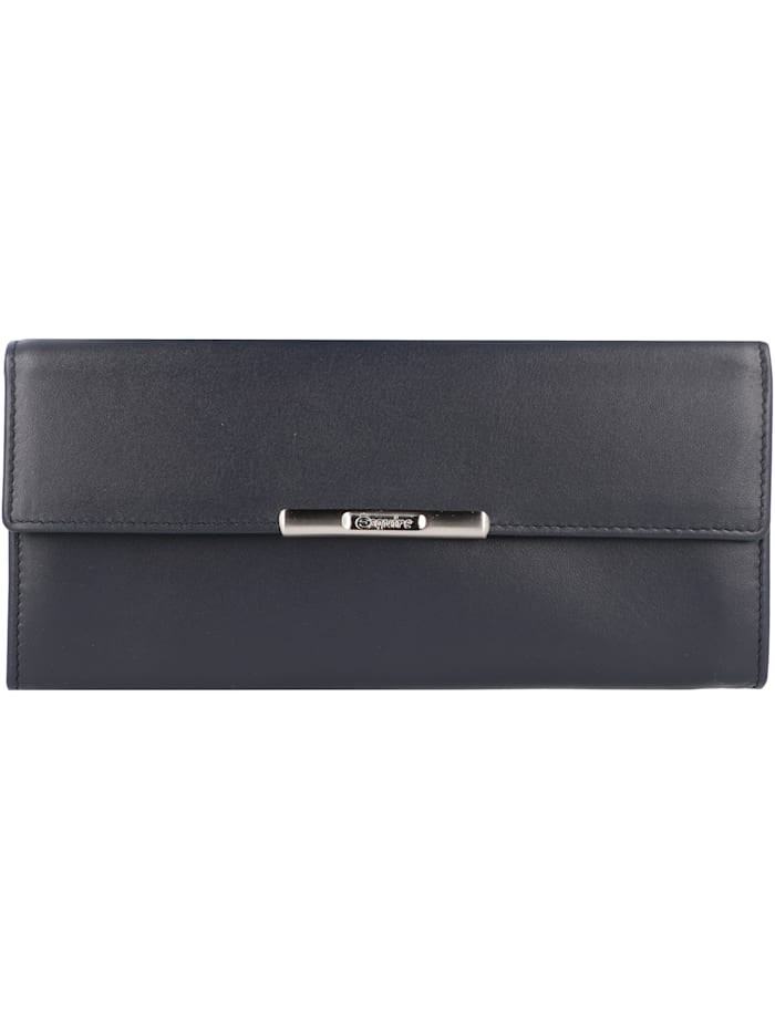 Esquire Helena Geldbörse Leder 18 cm, blau
