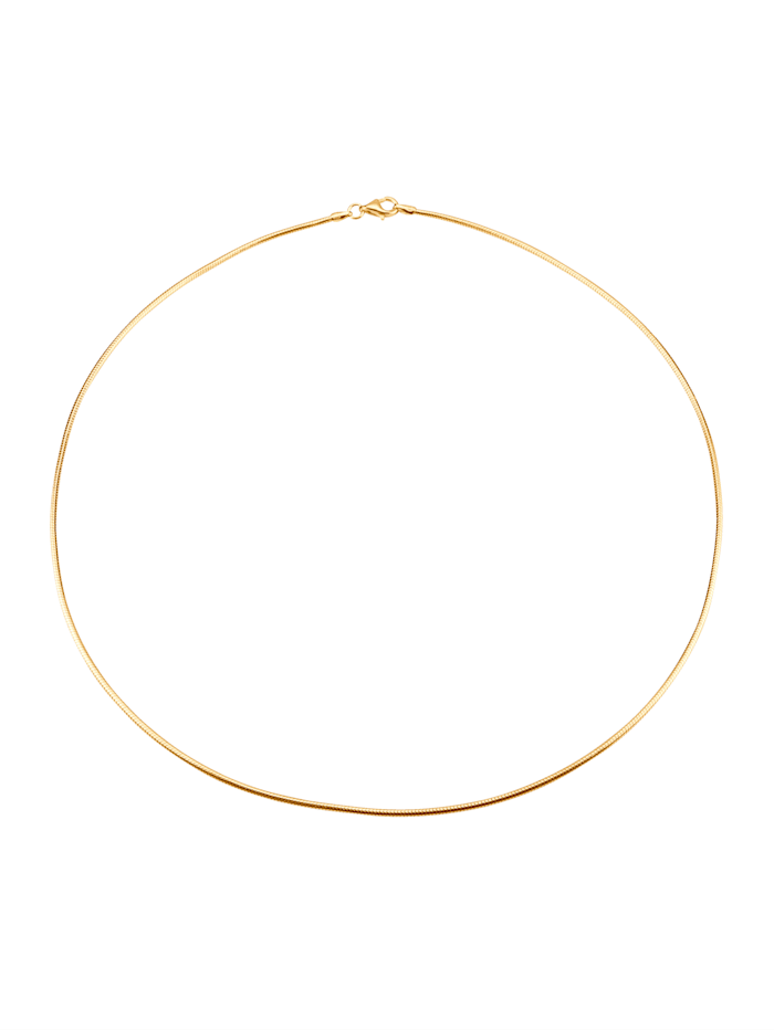 Halsband, Guldfärgad