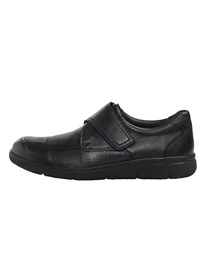 Chaussures basses à scratch avec semelle intérieure à coussin d'air et mémoire de forme en liège