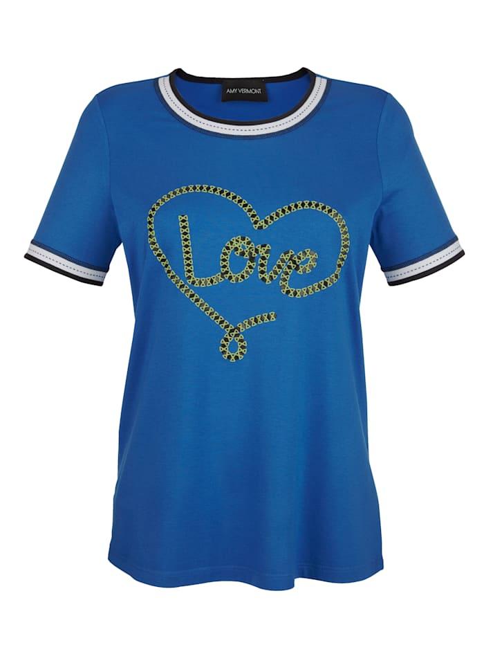 Shirt mit dekorativem Aufdruck im Vorderteil