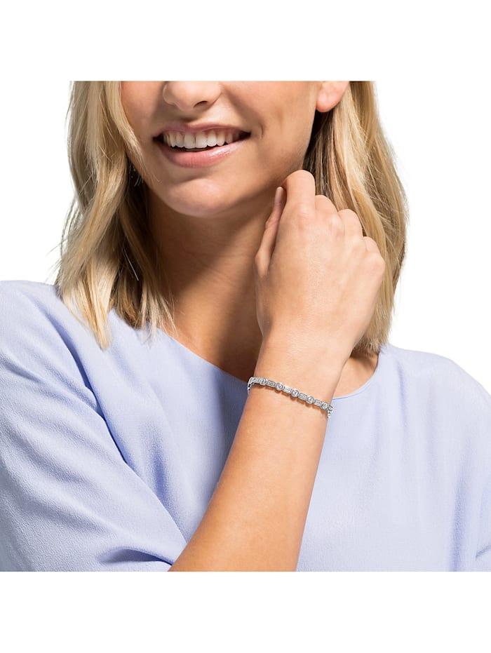 FAVS Damen-Armband 925er Silber 16 Zirkonia