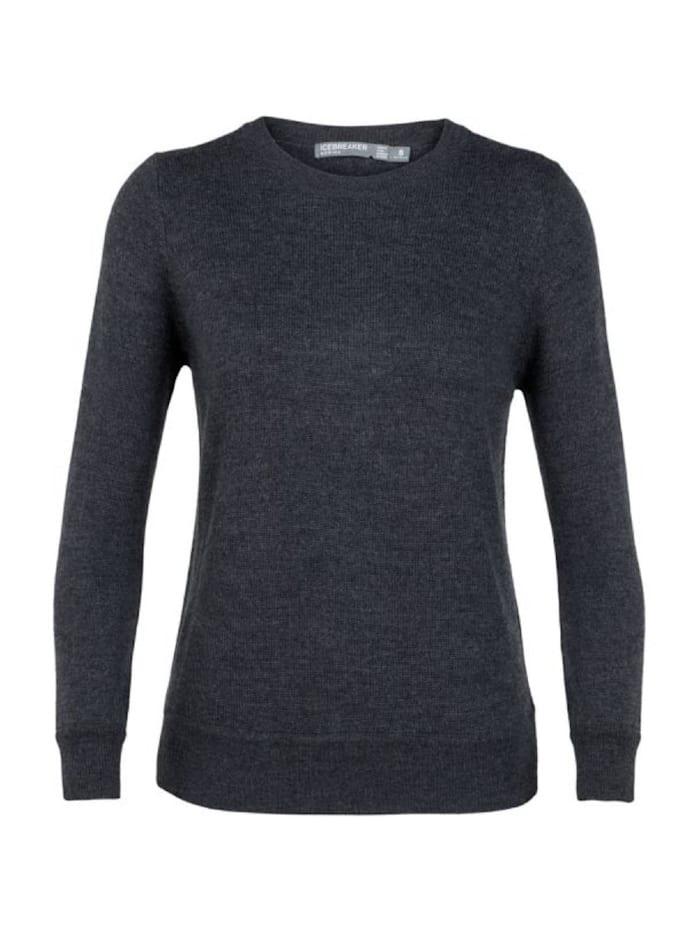Icebreaker Shirt Muster Crewe Sweater