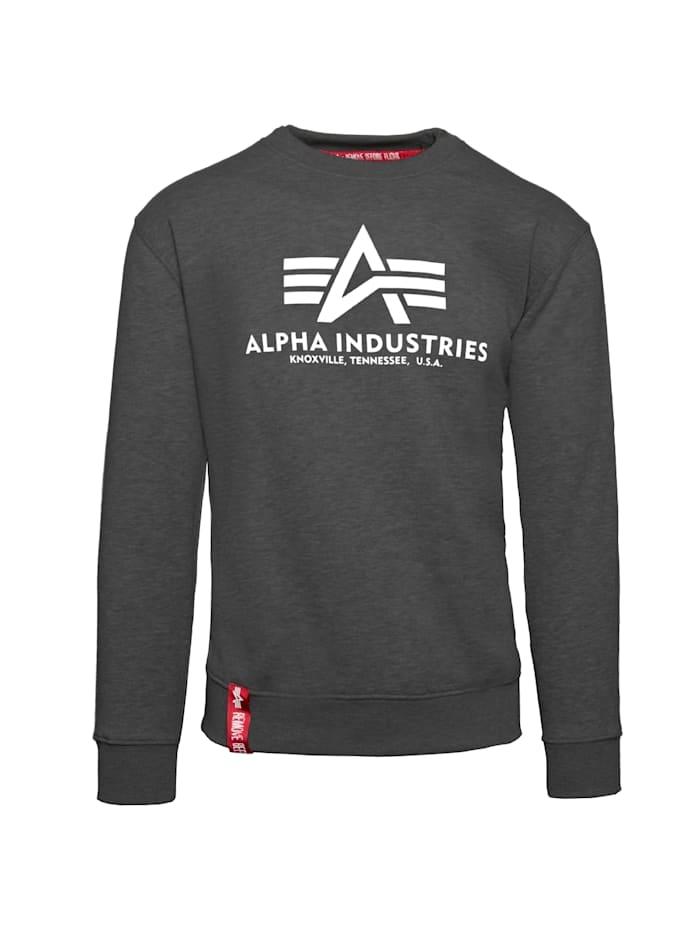 Alpha Industries Sweatshirt Basic Sweater, grau