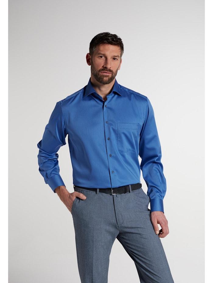 Eterna Eterna Langarm Hemd COMFORT FIT, royalblau