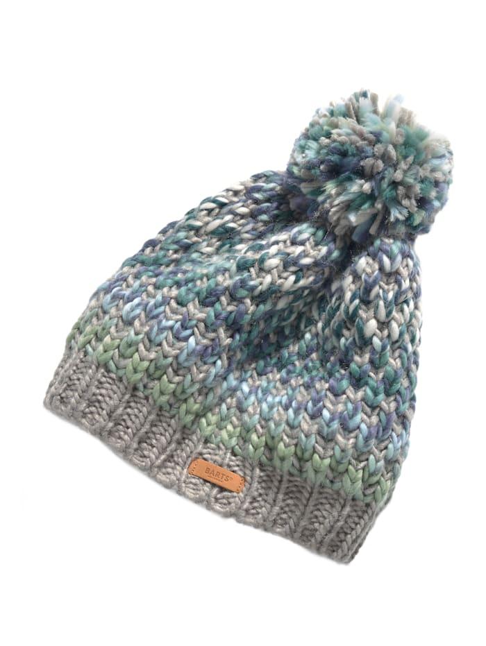 Barts Mütze, grün-grau
