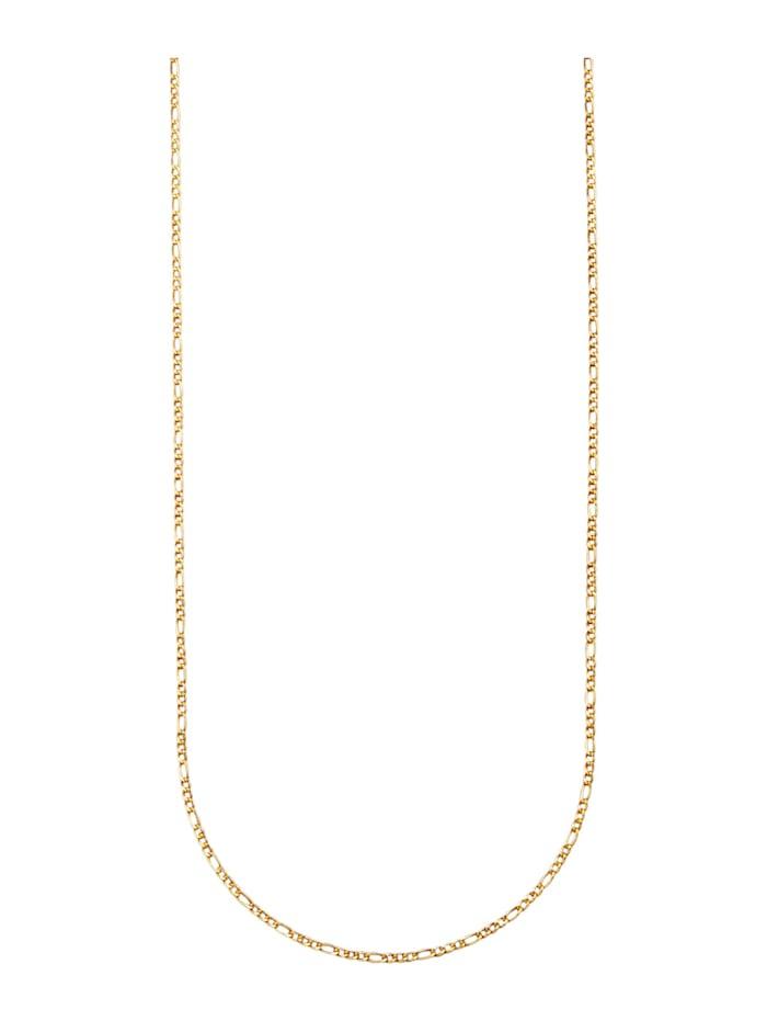 Chaîne maille Figaro en or jaune 375, Coloris or jaune