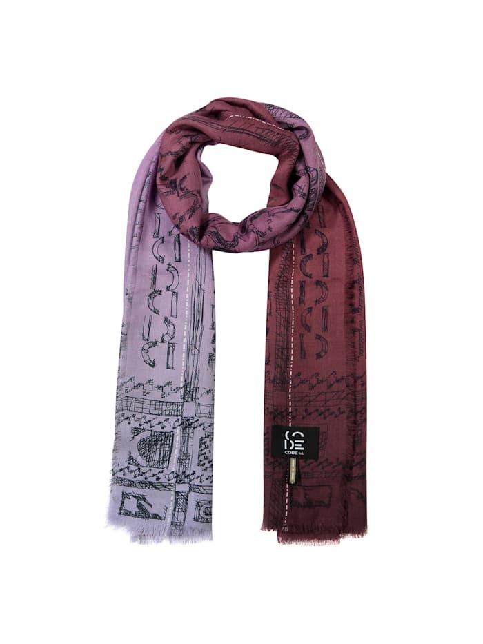 Codello Premium Schal aus Modal und Kaschmir - Made in Italy, Lilac